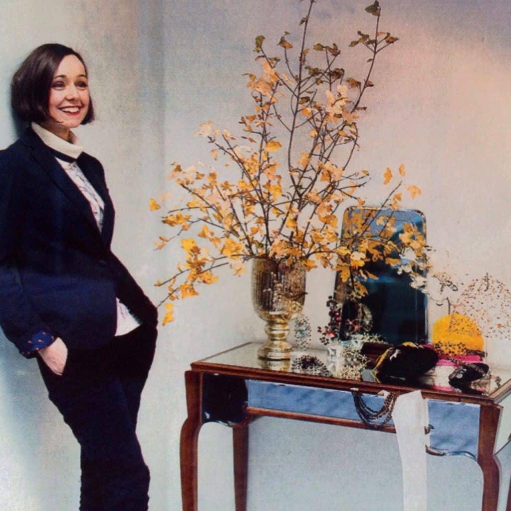 Tocados de altura - Monic en Yo Dona - Mónica Díaz en su atelier
