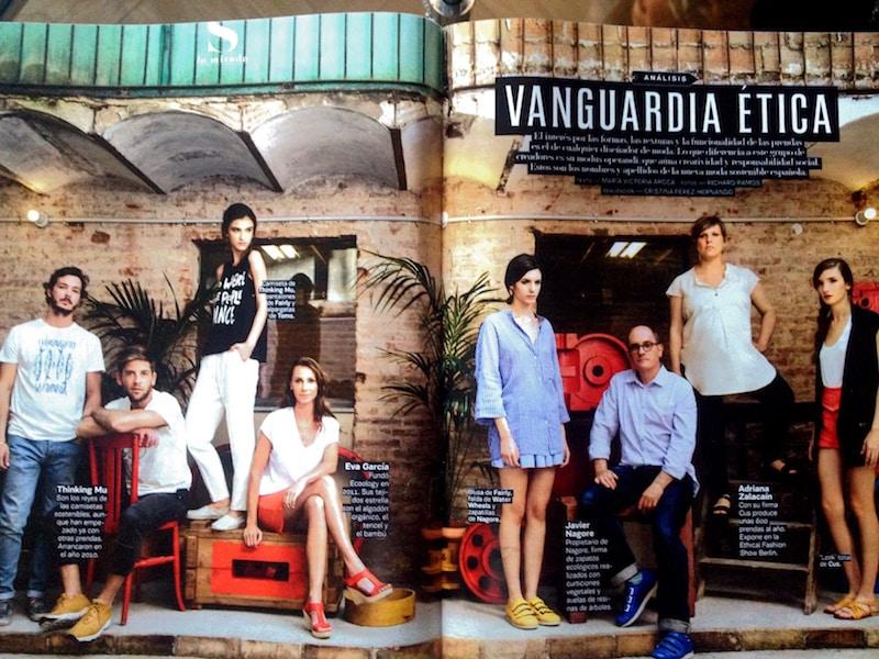 "S-Moda: Reportaje ""Vanguardia Etica"" - Lia-Terni"