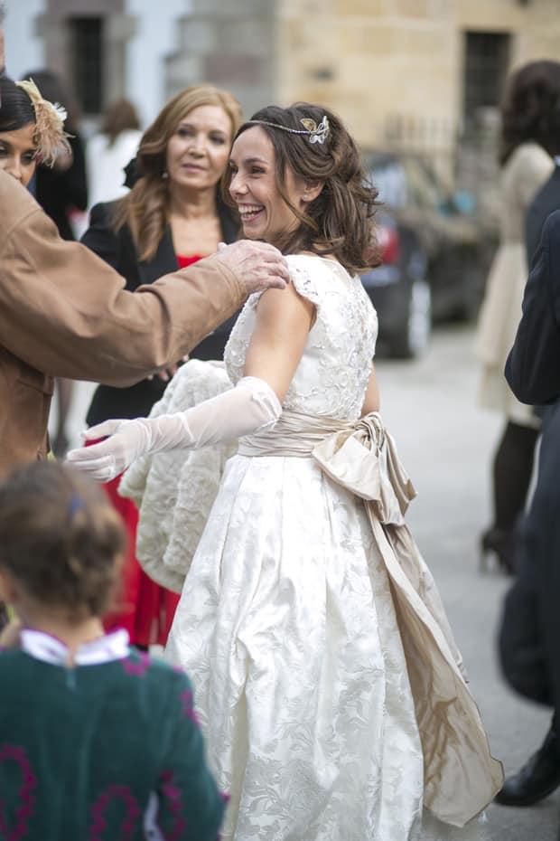 Ana_radiante_con_Total_Look_Monic: un vestido un sueño Monic