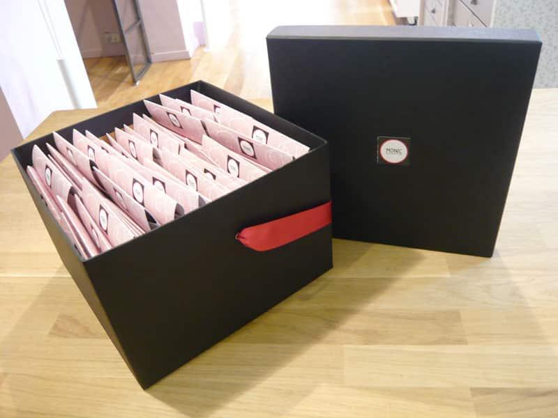Caja de regalitos Monic para las invitadas