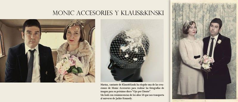 """Monic en la escena musical: Klaus & Kinski disco """"Ojo por Diente"""""""