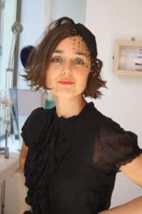 Retrato de Monica Diaz, diseñadora de MONIC