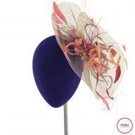 Tocado Invitada Fiesta pamela sombrero plumas