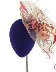 Tocado Invitada Fiesta pamela sombrero