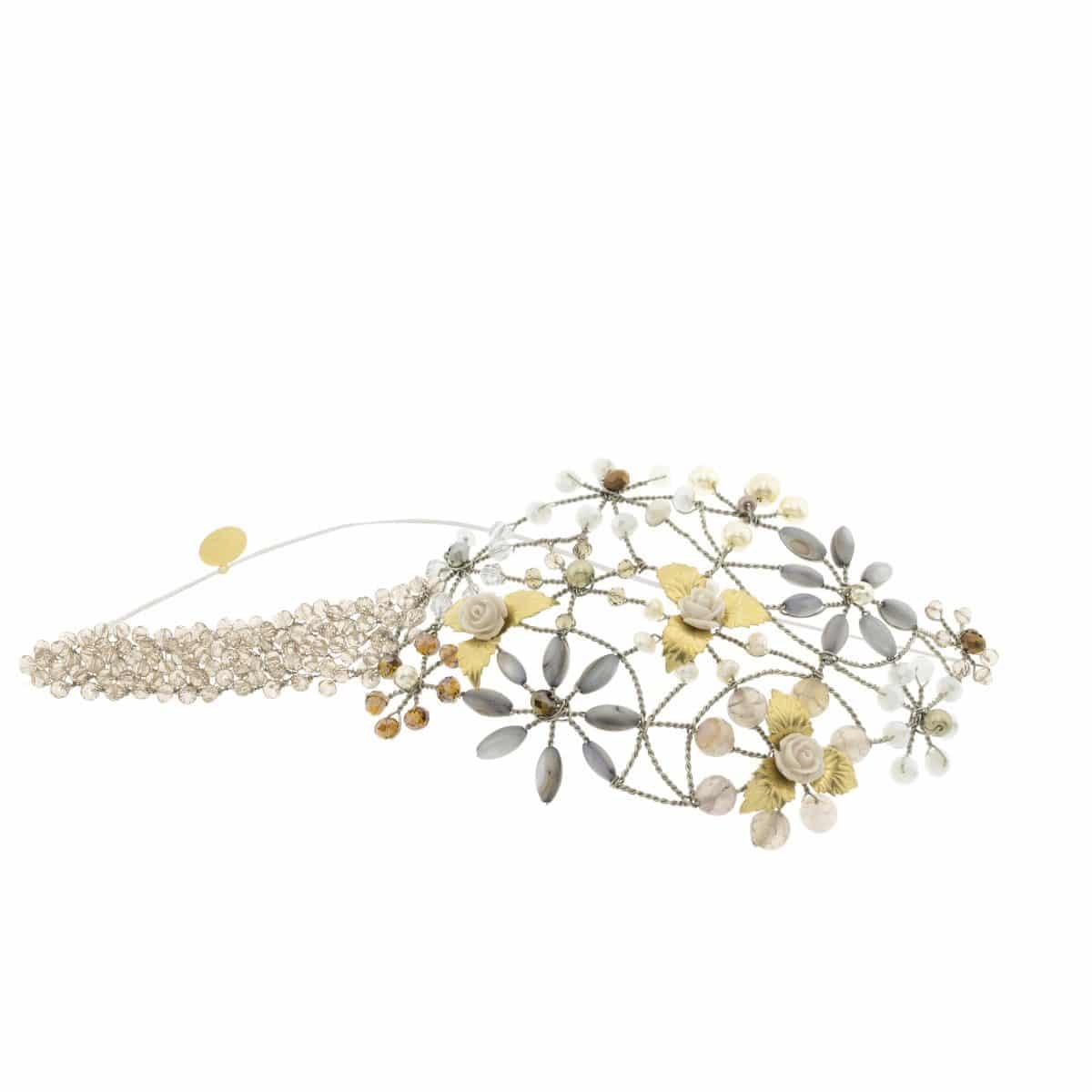 GOLD RICHELIEU   MONIC Accessories. Diseño de Tocados b9fd1cbb574