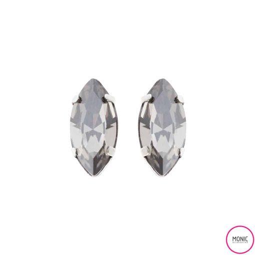 pendientes de cristal para novia