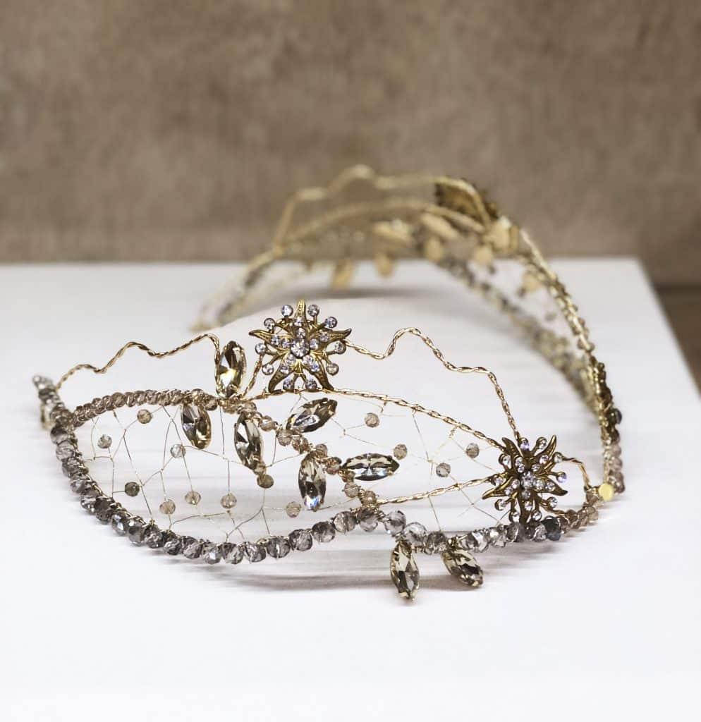 tocado joya diadema vintage