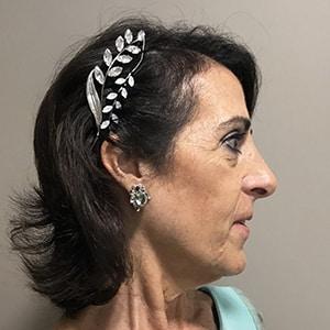adorno para el pelo para peinado de madrina