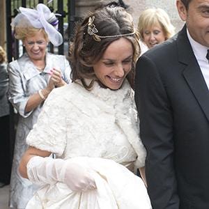 tocado tiara de novia para pelo suelto