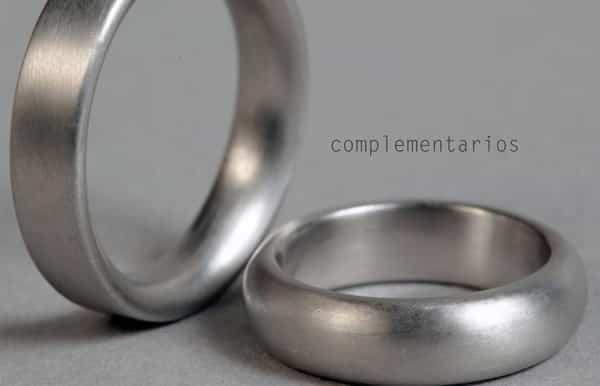 alianzas de boda plata para comprar en Madrid