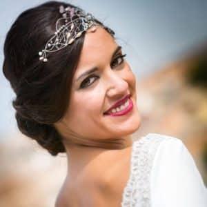 tocado de novia vintage en madrid