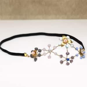 tocado diadema joya adornos accesorios pelo boda invitada