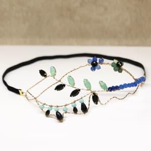 diademas para invitadas de boda tocado joyas de pelo