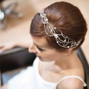 diadema tiara de cristal swarovki para novia