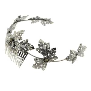 tiara de plata para novias