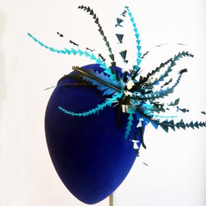 diademas con plumas originales para pelo y cabello de boda