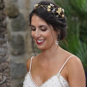 corona diadema tocado joya boda pelo novia comprar