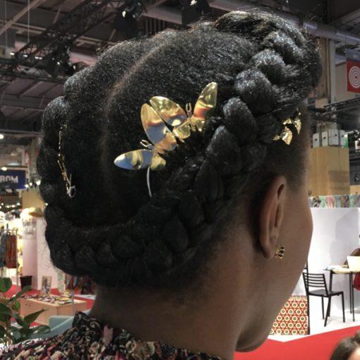 adornos pelo para peinado de boda con trenzas accesorios