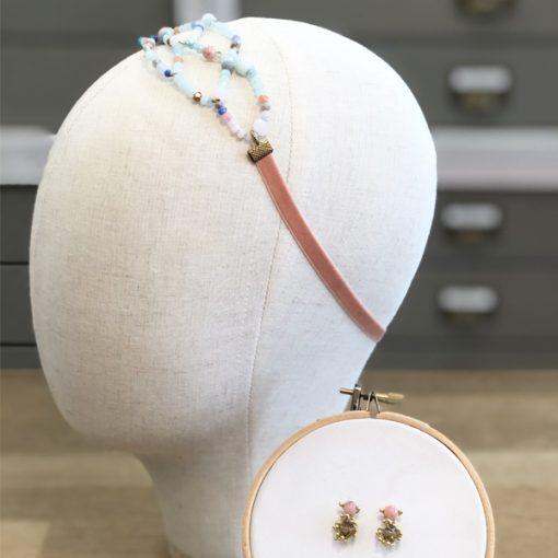 diadema de cristal para invitadas de boda accesorio pelo adorno pequeño detalle cristal para peinado