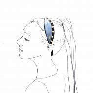 diademas perlas para peinados de boda y fiesta de mujer