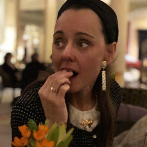 pendientes invitada boda largos colgantes geométricos dorados baratos online