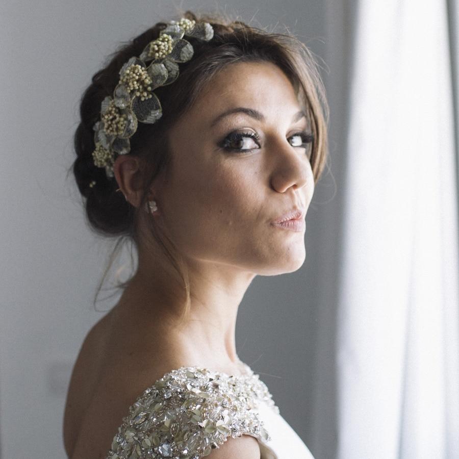 recogidos de boda para novias con tocado