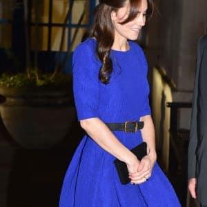 pendientes para vestido azul klein eléctrico azulón
